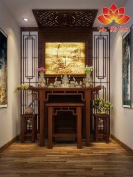 Phòng thờ kiểu Nhật đẹp toát lên phong cách quý tộc