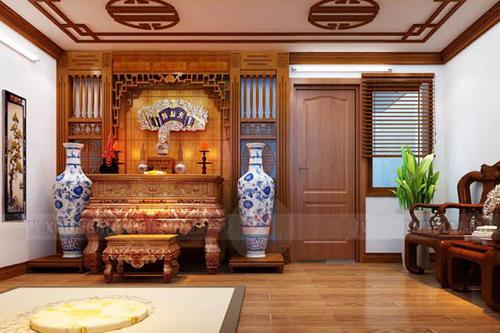 Phòng thờ kiếu Nhật dùng để thờ Phật
