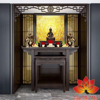 Phòng thờ có cần cửa không và khi đặt bàn thờ cần phải lưu ý gì?