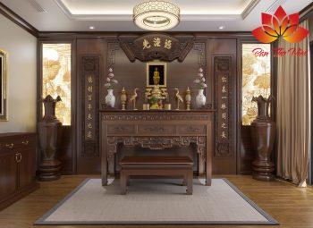 Nội thất phòng thờ đẹp cho nhà phố, biệt thự, chung cư, nhà ống