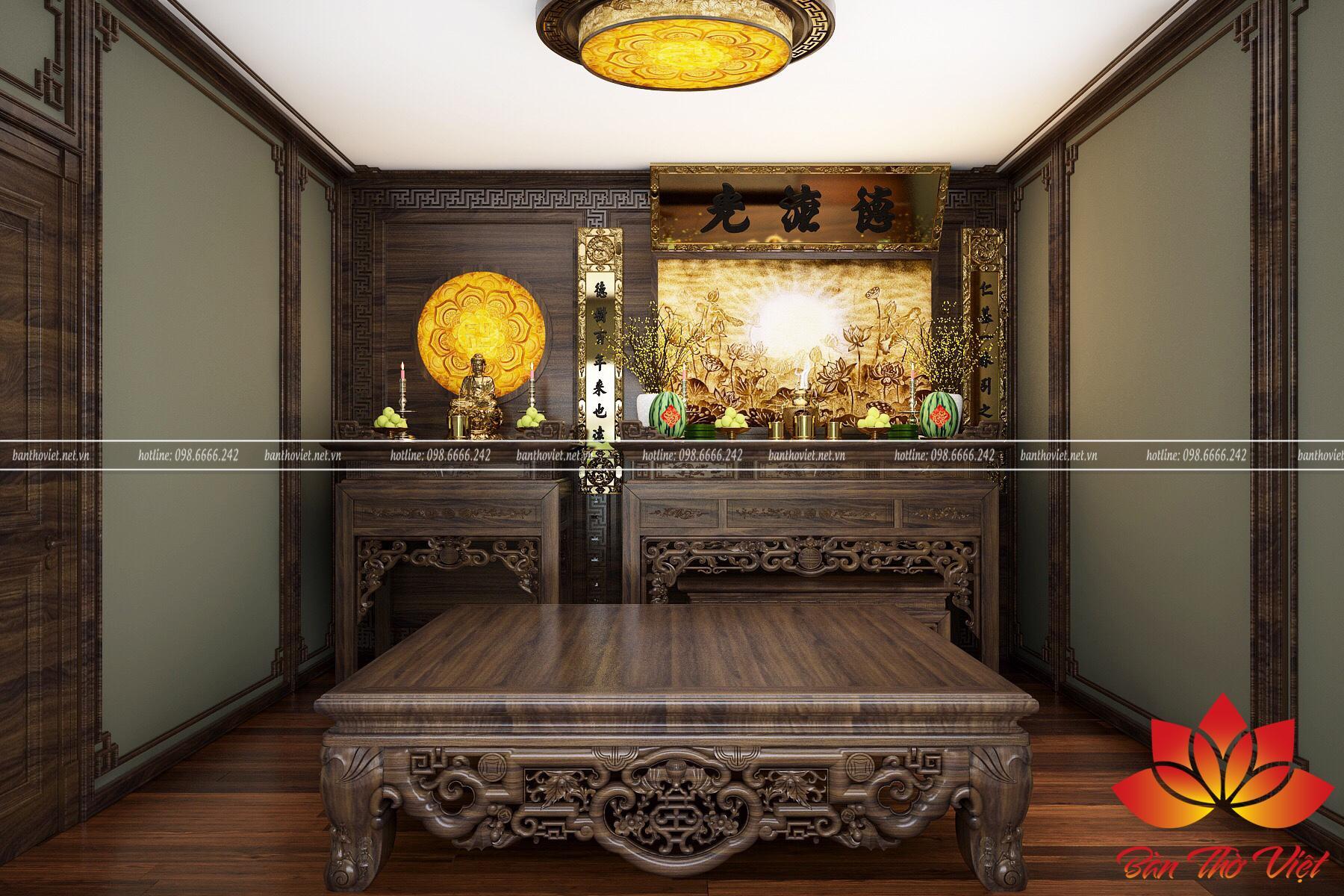 Bàn thờ Việt chuyên cung cấp các sản phẩm và dịch vụ phòng thờ ở Long Biên với nhiều ưu đãi lớn dành cho khách hàng