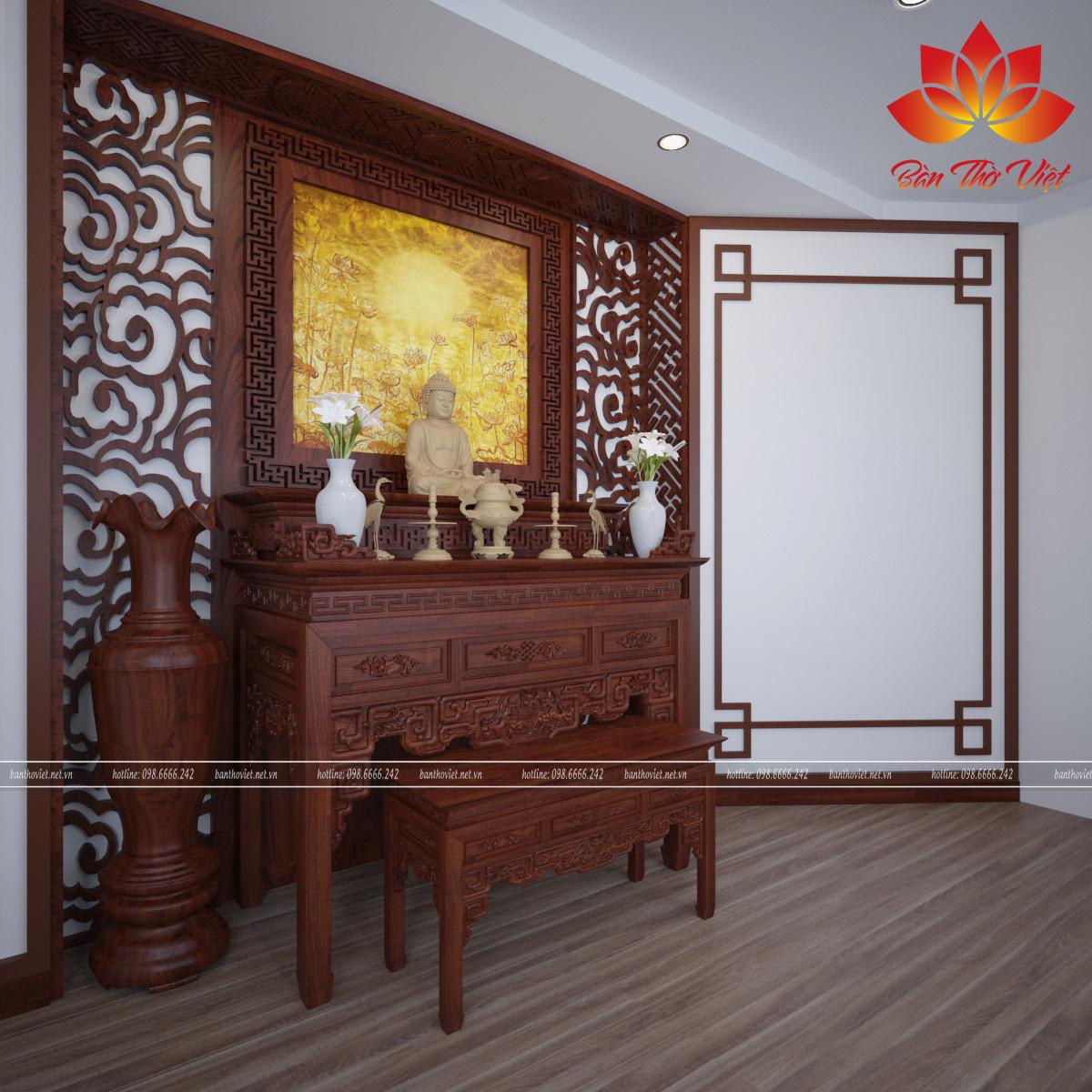 Bàn thờ Việt là địa chỉ uy tín cho nhu cầu tìm hiểu phòng thờ ở Ba Đình