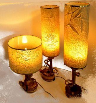 """Các tác phẩm đèn bàn trúc chỉ đẹp lung linh làm """"MÊ"""" lòng người"""