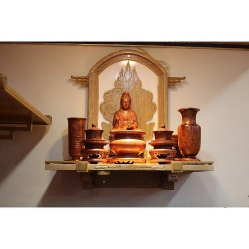 Đặt bàn thờ Phật là một nét đẹp trong tín ngưỡng tâm linh của người Việt